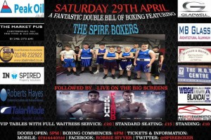 Upcoming home show on Saturday 29th April @ the Proact Stadium followed by the Joshua VS Klitschko fight live on the big screens.